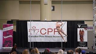 CPFA 2018 Toronto ProShow - Pole & Hoop Competition -  Lady Grace (Pentatonix, Hallelujah)
