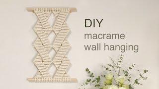DIY | macrame wall hanging | 마…