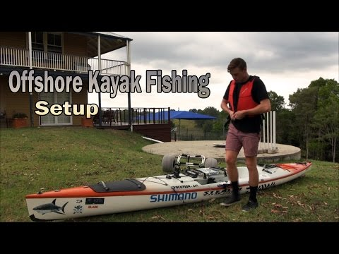 Offshore Kayak Fishing Setup| Stealth Kayak Setup