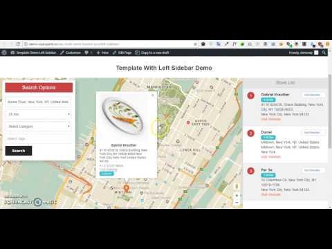 Wp Multi Store Locator