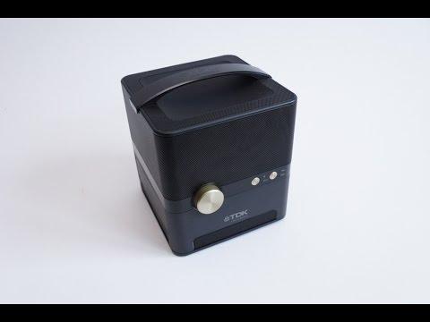 TDK Trek 360 Portable Bluetooth Speaker Review and Sound Test