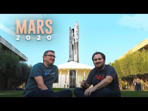 Mars 2020 Perseverance (Azim) Aracını Uzaya Gönderilmeden Önce Son Kez Gördük!