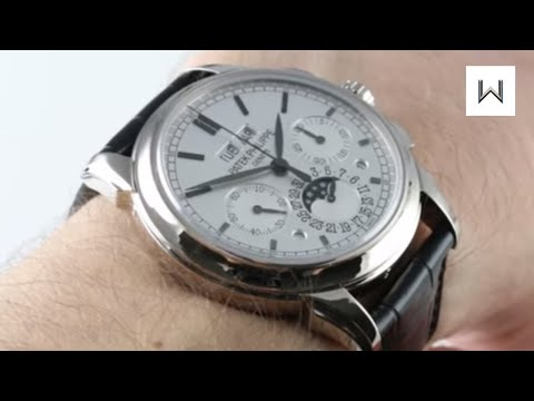 Patek Philippe 5270G-001 Grand Complications Perpetual Calendar Chronograph Luxury Watch Review