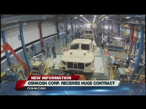 Oshkosh Corp. Contract is Worth Nearly 7 Billion Dollars
