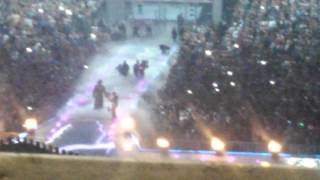 Undertaker entrance at Wrestlmania 23