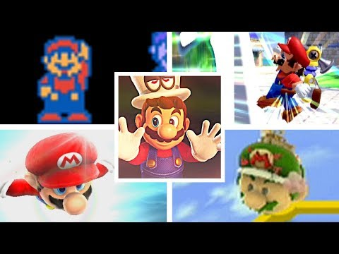 Evolution Of LEVEL SELECT SCREENS & LEVEL INTROS in Super Mario Series (1983-2017)