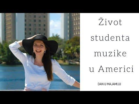 Dan u životu studenta muzike u Americi