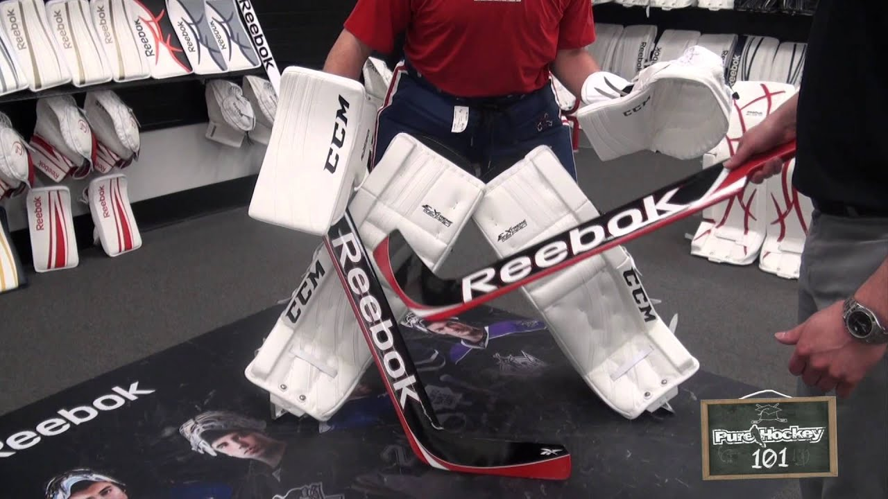 How To Choose The Correct Goalie Stick Youtube