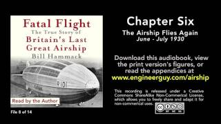 Fatal Flight audiobook: Chapter Six: The Airship Flies Again (8/14)