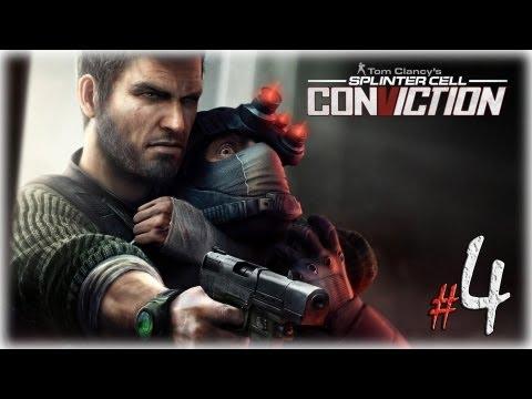 Смотреть прохождение игры Splinter Cell: Conviction. Серия 4 - В белом ящике.