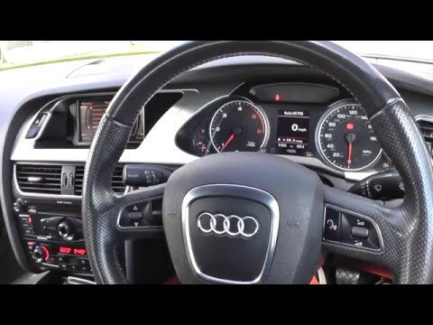 audi a4 b8 interior review guide 2008 to 2015 youtube. Black Bedroom Furniture Sets. Home Design Ideas