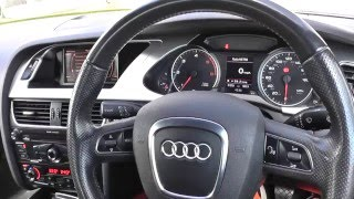 Audi A4 B8 Interior Review Guide 2008 to 2015
