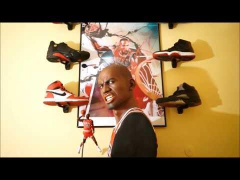 Michael Air Jordan Life Size Bust 1:1 Statue Resin
