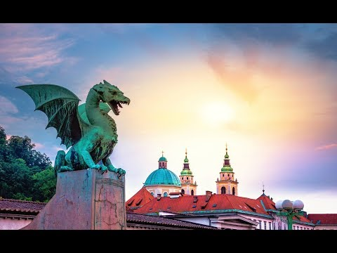 Discovering Lubiana( Ljubljana) (Slovenia)