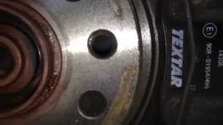 Тормозные диски BluePrint на Passat B6