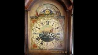 Beautiful Warmink Dutch Schippertje 8 Day Oak Wood Wall Clock For Sale On Ebay Uk.