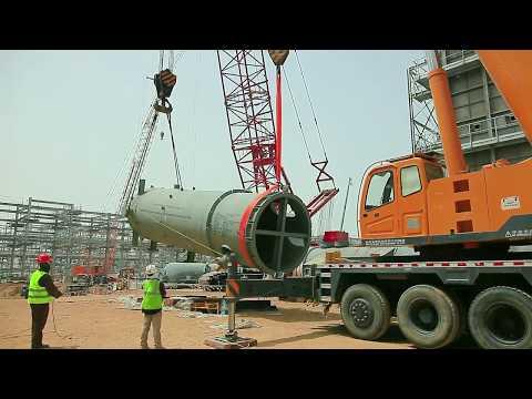Air Liquide Arabia Hydrogen Pipeline Network In Jubail, Saudi Arabia