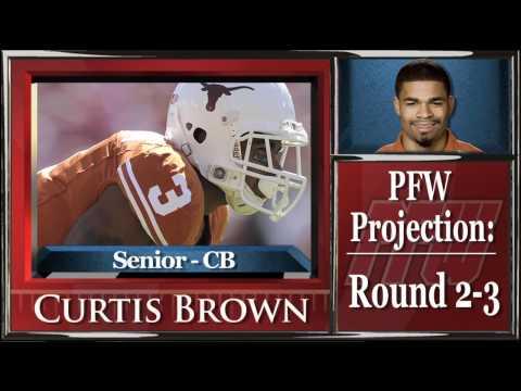 PFW Draft Profile: Curtis Brown