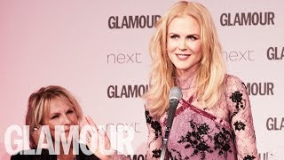 Nicole Kidman: I Am Changing My Name to Nicole KidWOMAN | Women of the Year 2017 | Glamour UK