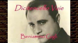 Beniamino Gigli - Dicitencello Vuie