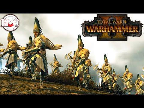High Elf Battles  - Total War Warhammer 2 - Online Battle 84