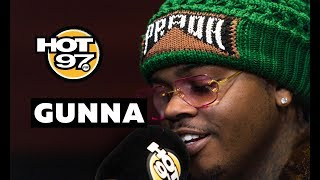 Gunna On Fashion Influence, Gucci Controversy, + Fans Rushing Listening Party