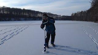 Мороз Придавил Щуку Рыбалка на Живца Зимой