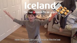 Iceland Christmas Advert 2017 - Extra Mature Cheddar Soufflettes (singing)