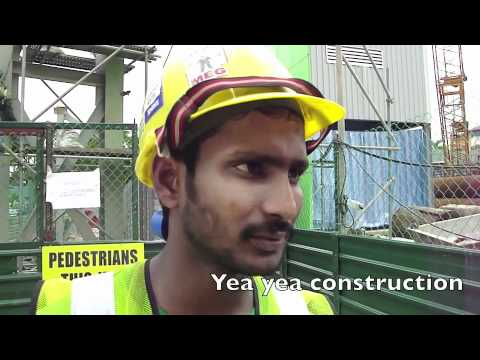 Interview with a typical construction worker in Singapore
