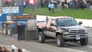 2001 24v Cummins W/ Stacks 4x4 Truck Pull