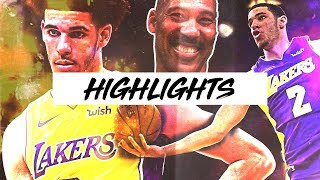 Best Lonzo Ball Highlights 17-18 Season | Clip Session