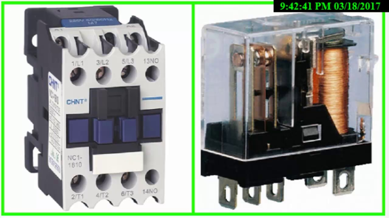 Qa-what Is Difference Between Relay And Contactor