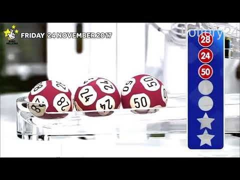 2017 11 24 Euro Millions Number and draw results