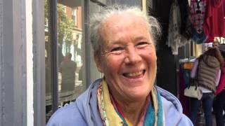 Homeless woman in Portland (ME) records heartfelt message to her long lost dear friend
