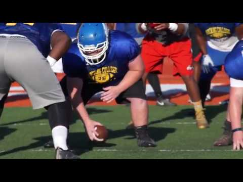 Hocking College Football Pre-Season 2016