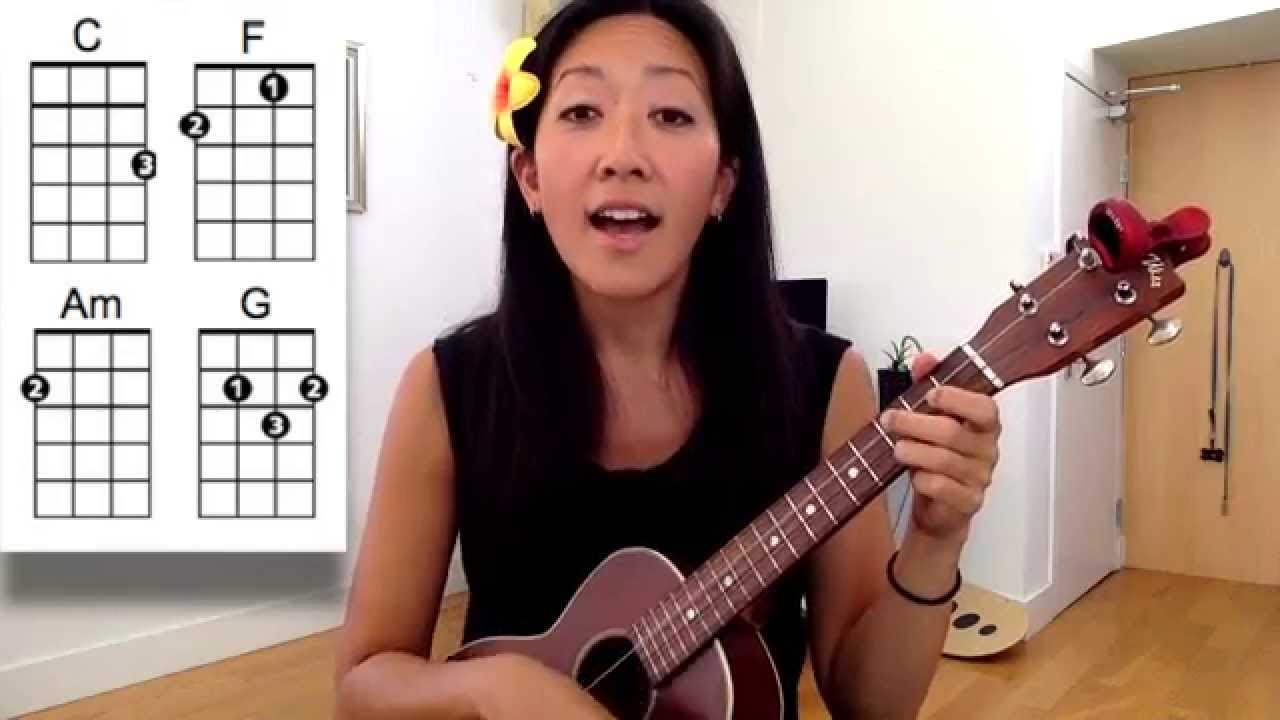 Ho hey the lumineers beginner ukulele tutorial youtube hexwebz Images