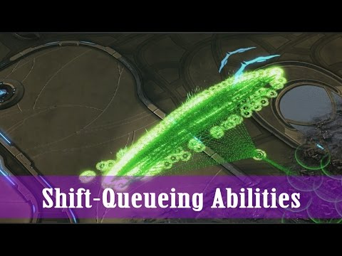 Starcraft 2: Legacy Of The Void Tutorial (720 HD): COMPREHENSIVE Shift Queue Tips, Tricks, & Uses!