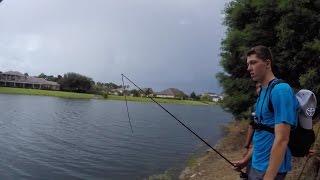 Disney world pond bassin kicked out ft 1rod1reel jon b for Bass fishing disney world
