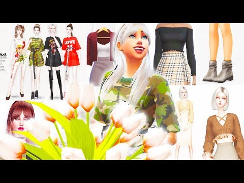 OVER 200 ITEMS! 😱🛍️ // The Sims 4: CC Shopping