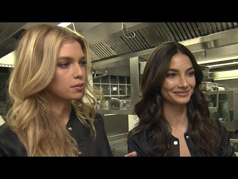 Victoria's Secret Angels Lily Aldridge and Stella Maxwell Reveal Their Pre-Fashion Show Diets