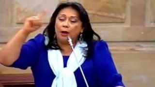 Audiencia Pública #VíctimasEnElExterior Intervención de Gloria Stella Díaz