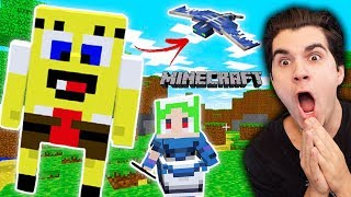 Playing Minecraft For The FIRST TIME!