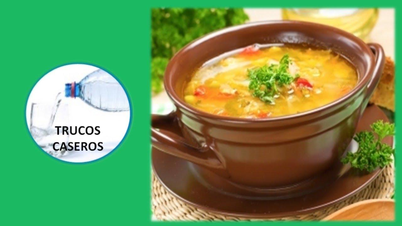 Consejos de cocina para hacer una buena sopa trucos for Platos caseros faciles