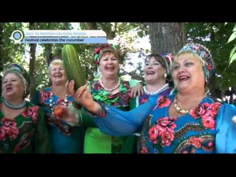 Russian Cucumber Festival: Farmers in Rostov-on-Don celebrate home-grown vegetables