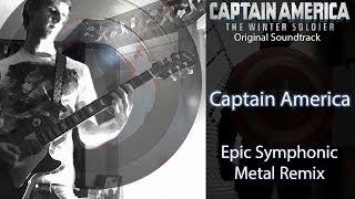 Captain America: The Winter Soldier - Guitar Cover (Symphonic Metal Remix)