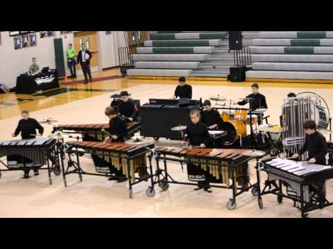 Dripping Springs Middle School Winter Drum Line