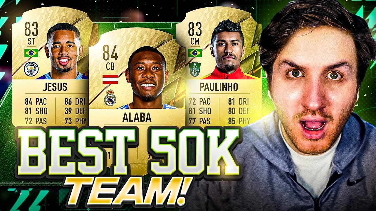 Download I Built the Craziest 50K Team in FIFA 22
