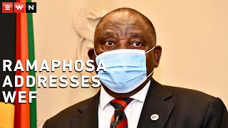 President Cyril Ramaphosa addressed the World Economic Forum in Davos on Tuesday, where he outlined plans to ensure SA's economy was back in play locally and internationally once the COVID-19 pandemic was alleviated. In his address, Ramaphosa said richer states hoarding vaccines would derail that goal.  #WEF #COVID19Vaccine #CyrilRamaphosa