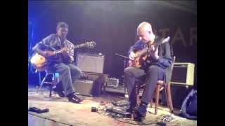 Elliott Sharp/Cristian Amigo guitar duo @ INTAR Roots & New Music Festival 2012
