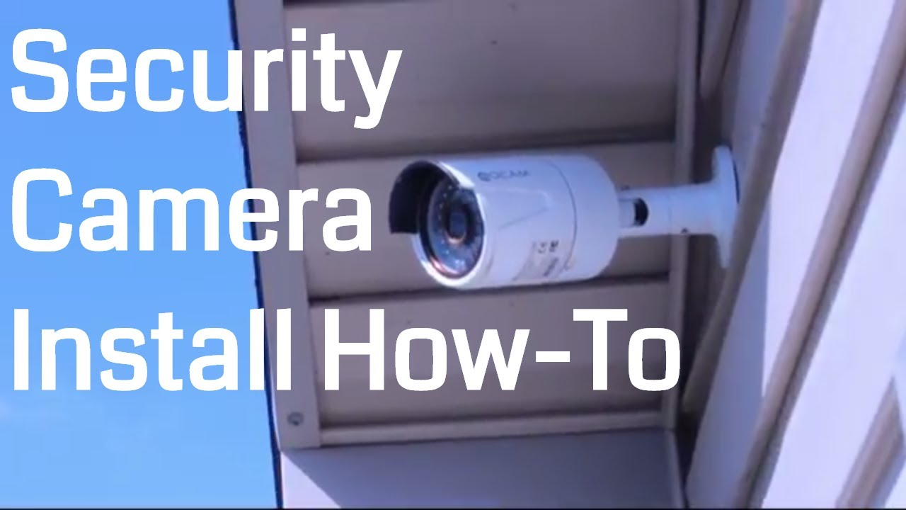 QCAM/AMCREST IP3M952E IP66 POE Security Camera | Unboxing & How to Install
